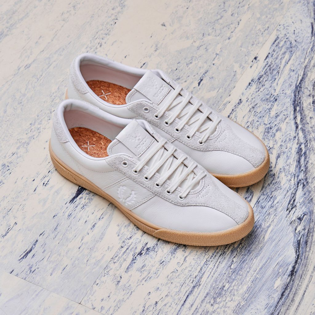 the best attitude 33751 fef8e Buy the Fred Perry x Kixbox B1 tennis shoe at Grants 1856 here.