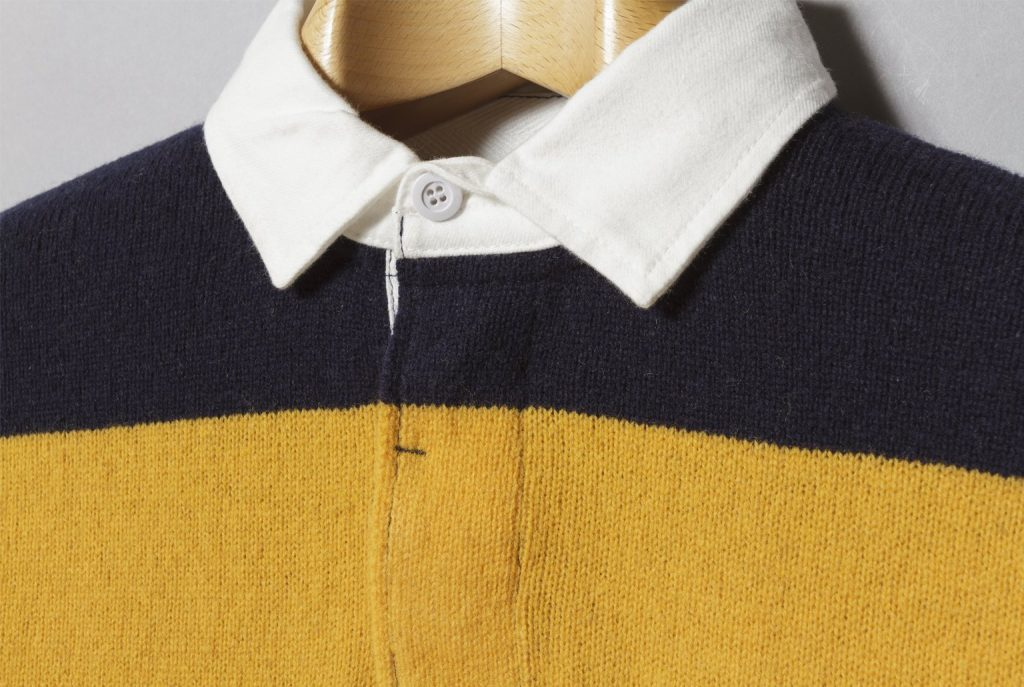 Beams Plus Knit Rugger - Proper Magazine