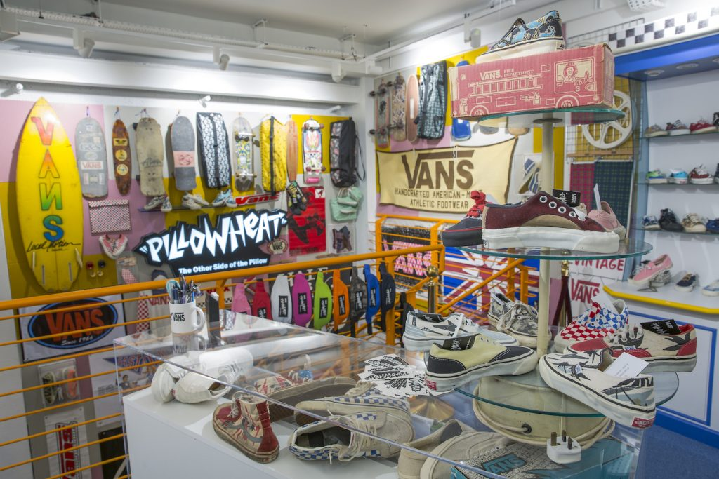 177cb86eb6 Pillow Heat Vintage Collection at Vans Carnaby Street - Proper Magazine