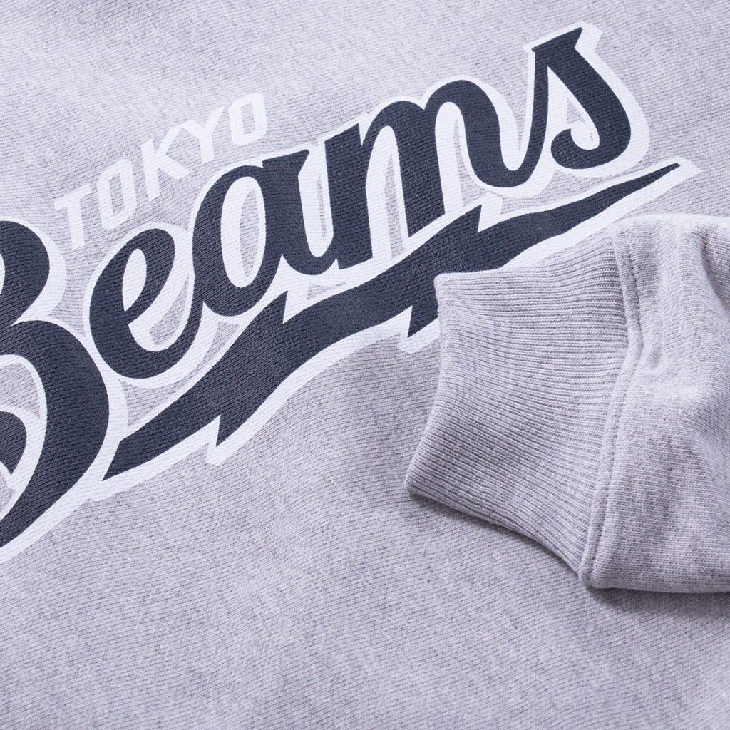 Champion X Beams 76 Logo Crewneck Sweatshirt - Proper Magazine