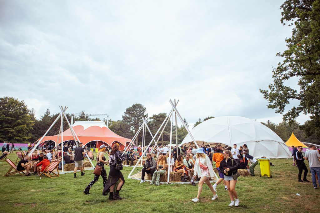 Festival Grounds by Hannah Metcalfe